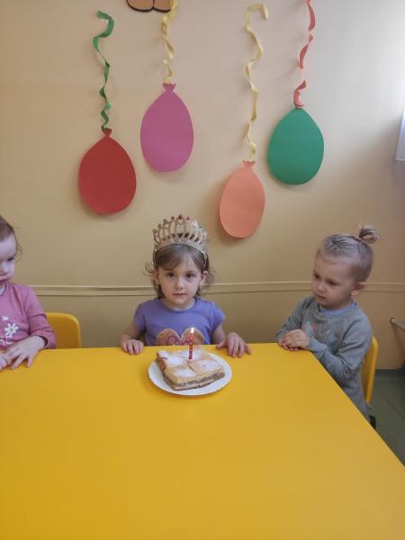 Urodzinkowy Maj w grupie 2