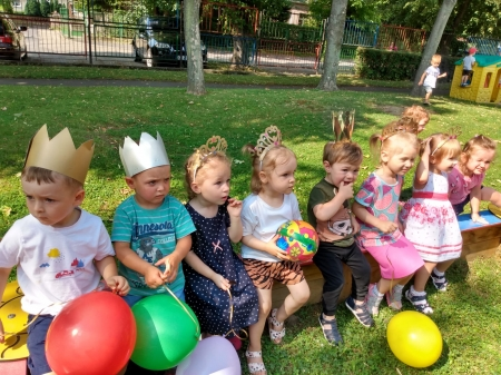 Urodzinkowy lipiec w grupie 1 i 3